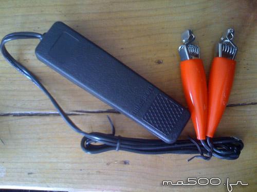 lampe stroboscopique pour le reglage de l'allumage de la fiat 500