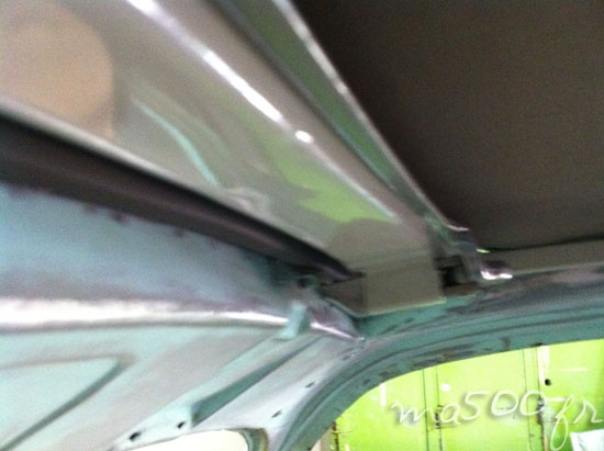 adapter une fiat 500 D ou N avec une capote longue option d'origine chez fiat