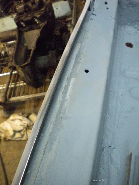 adaptation des bas de caisse de Fiat 500 refabriqués
