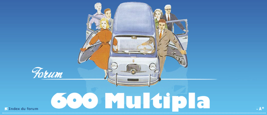 forum fiat 600 D multipla