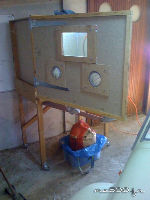 construction facile  d'une sableuse microbilleuse